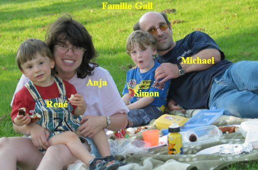 Familie Gall beim Picknick